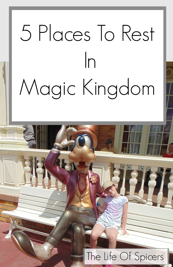 5 Places To Rest In Magic Kingdom