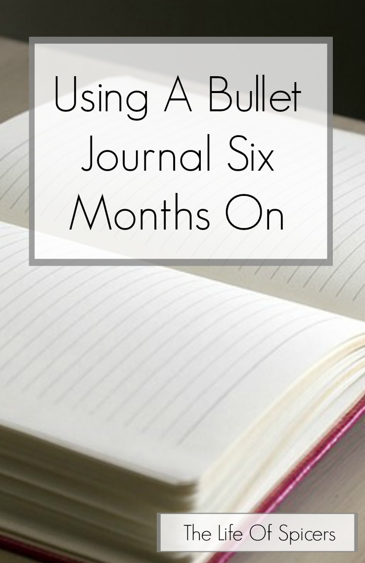 using a bullet journal