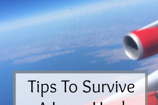 Tips To Survive A Long Haul Flight With Kids