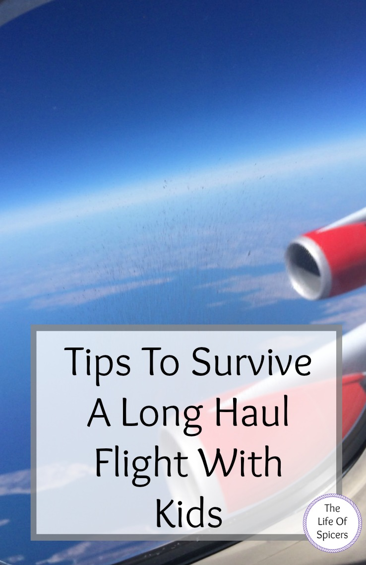 survive a long haul flight with kids