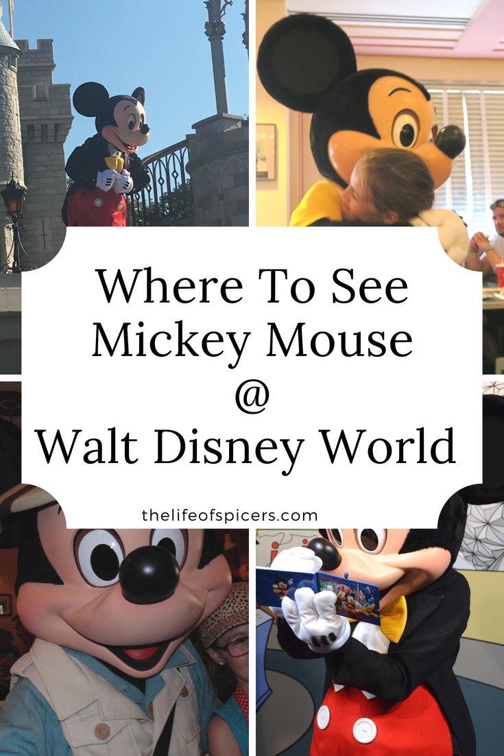 where to see Mickey Mouse