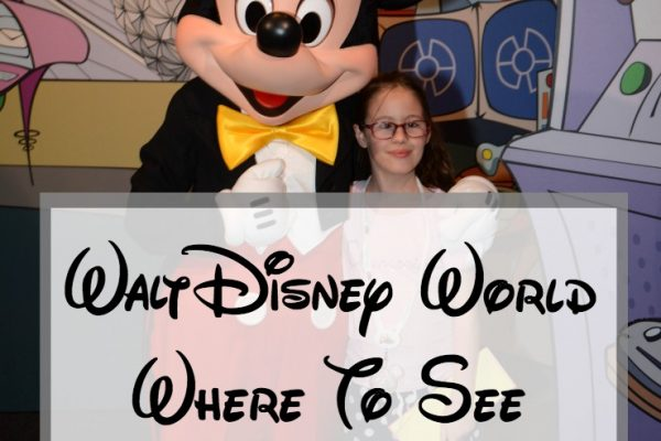 Walt Disney World Where To See Mickey Mouse