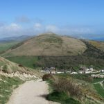 Walking The Coastal Path From Lulworth To Durdle Door
