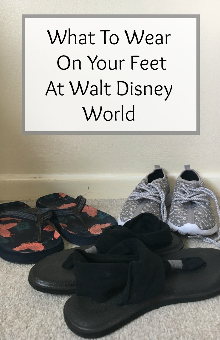 What To Wear On Your Feet At Walt Disney World