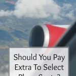 pay extra to book plane seats