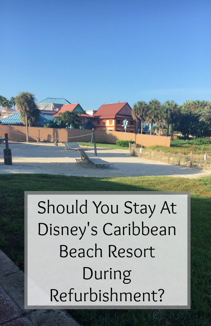 Caribbean Beach Resort During Refurbishment