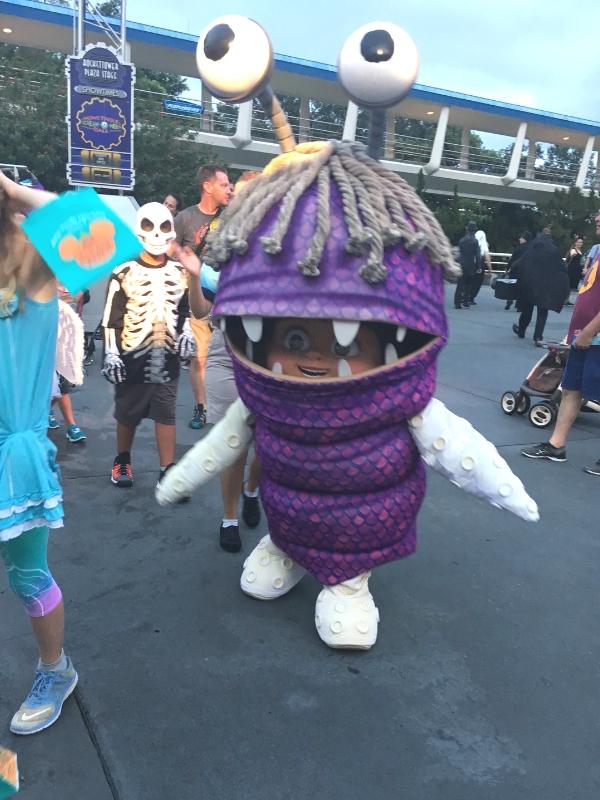 Boo in Tomorrowland Magic Kingdom