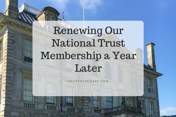 National Trust Membership 1 Year later