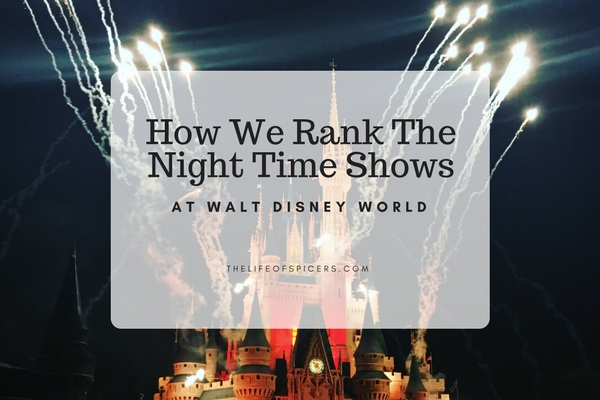 Disney World night time shows