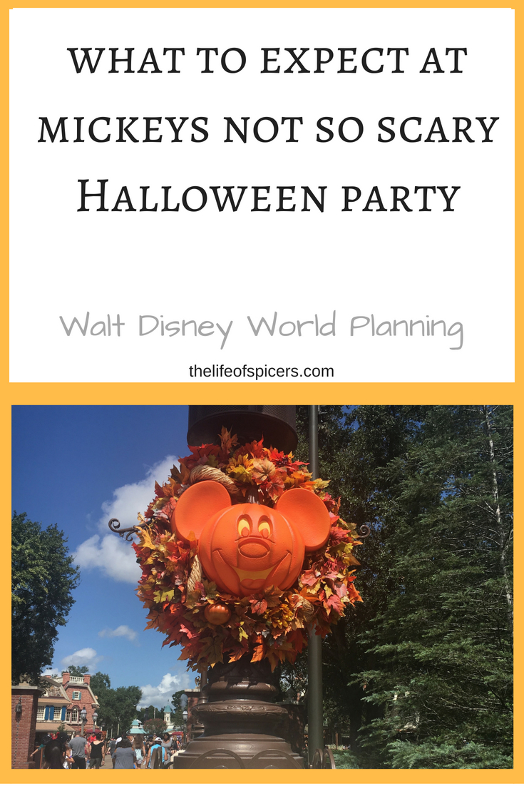 mickeys not so scary Halloween party