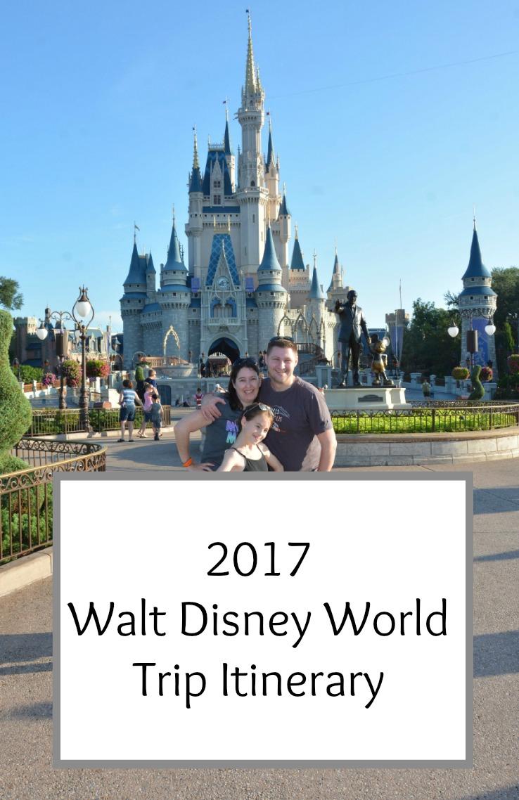 Walt Disney World 2017 Trip Report Index
