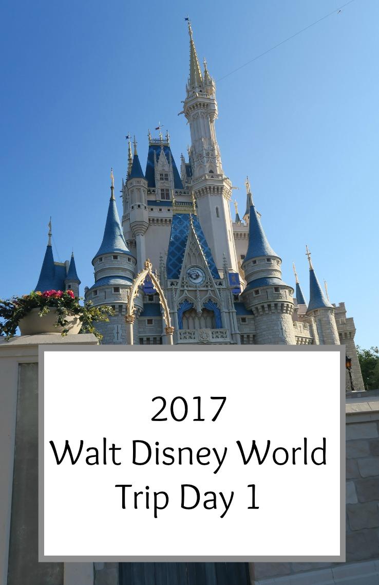 Walt Disney World 2017 Trip Diary Day 1