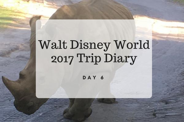 Walt Disney World 2017 Trip Diary Day 6