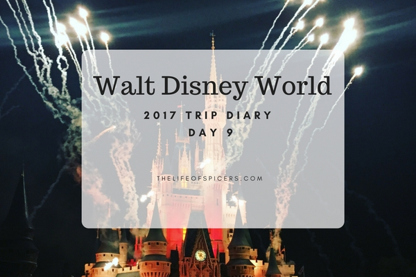 Walt Disney World Trip 2017 Day 9