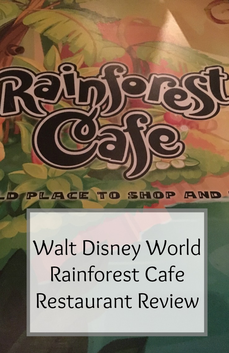 Rainforest Cafe Animal Kingdom
