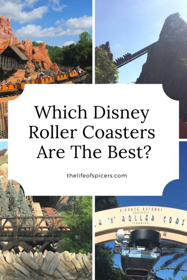 which is the best Walt Disney World roller coaster?