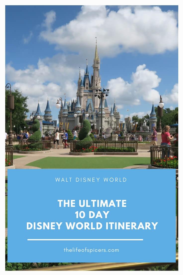 10 day disney world itinerary