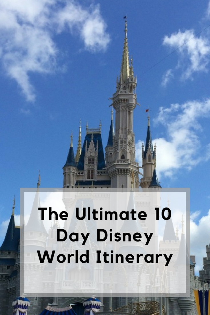 10 day Disney world itinerary