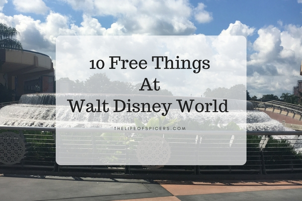 Free Things At Walt Disney World