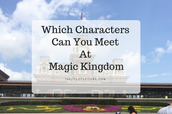 characters at Magic kingdom