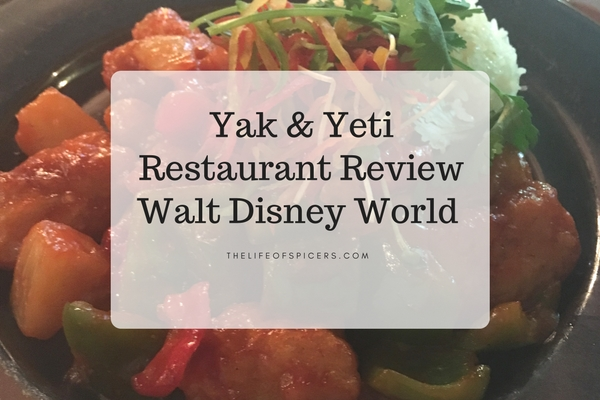 Yak and Yeti Restaurant Review Walt Disney World