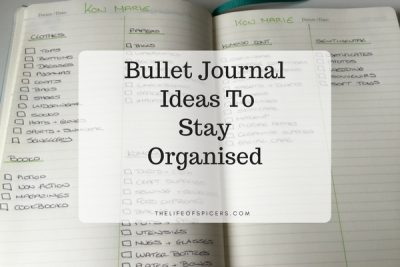 Bullet Journal Ideas To Stay Organised