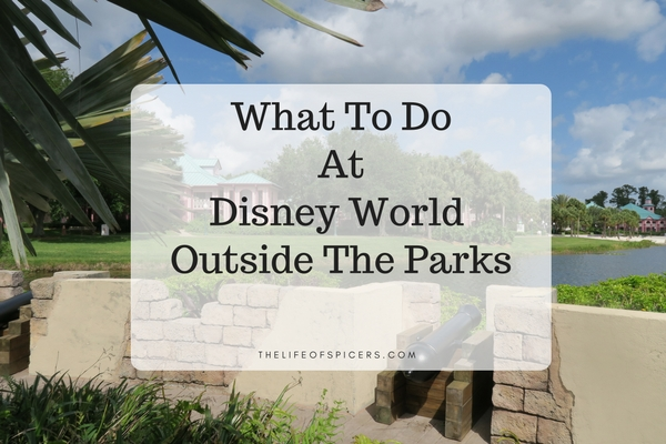 things to do at Disney World outside the parks