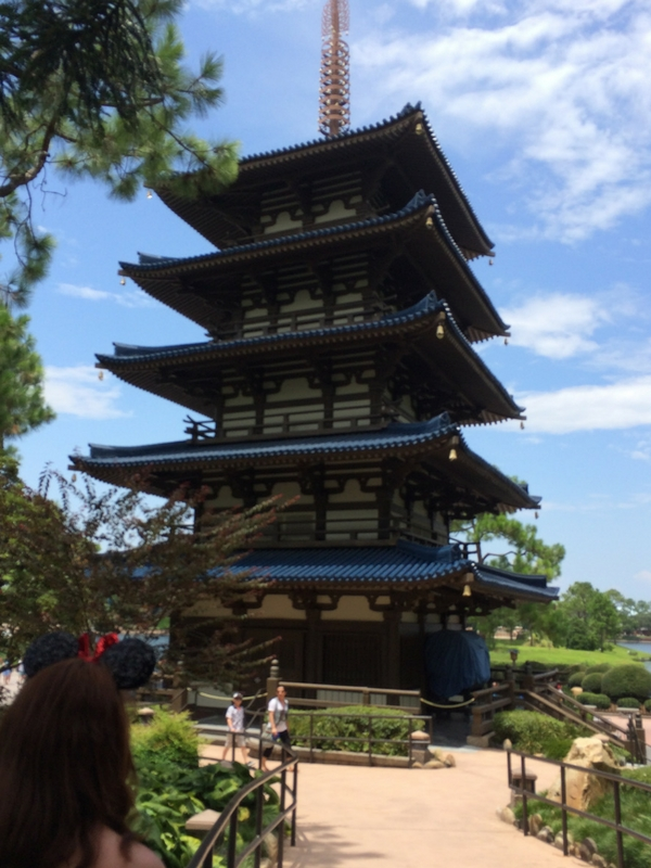 Epcot world showcase Japan pavilion