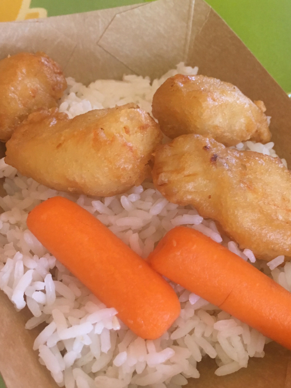 sweet and sour chicken Lotus Blossom cafe Epcot