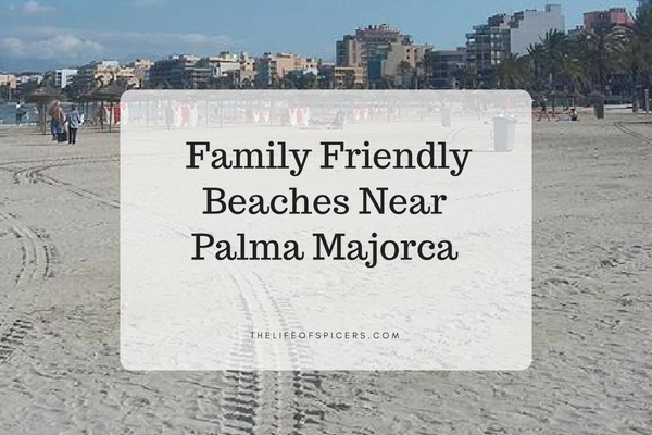 beaches near Palma Majorca