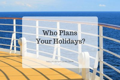 Who Plans Your Holidays?