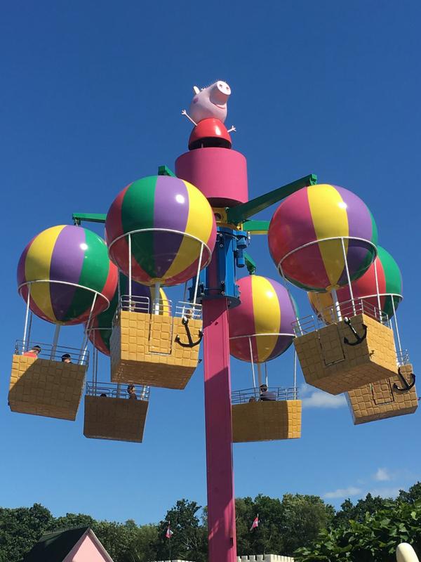 Peppa's Big Balloon Ride Peppa Pig World