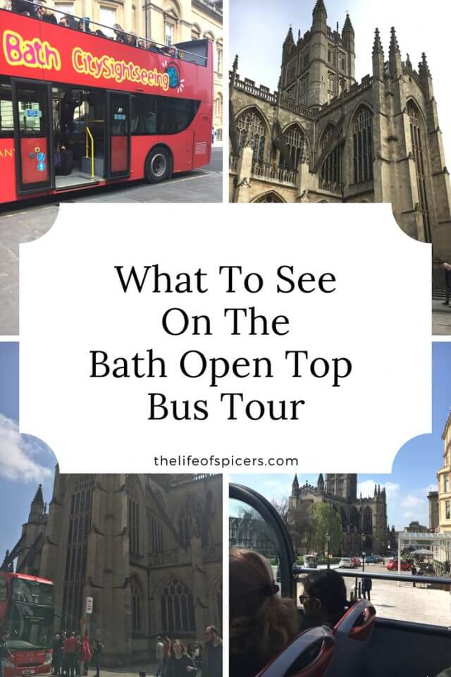 Bath Open Top Bus Tour