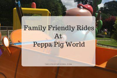 Family Friendly Rides At Peppa Pig World