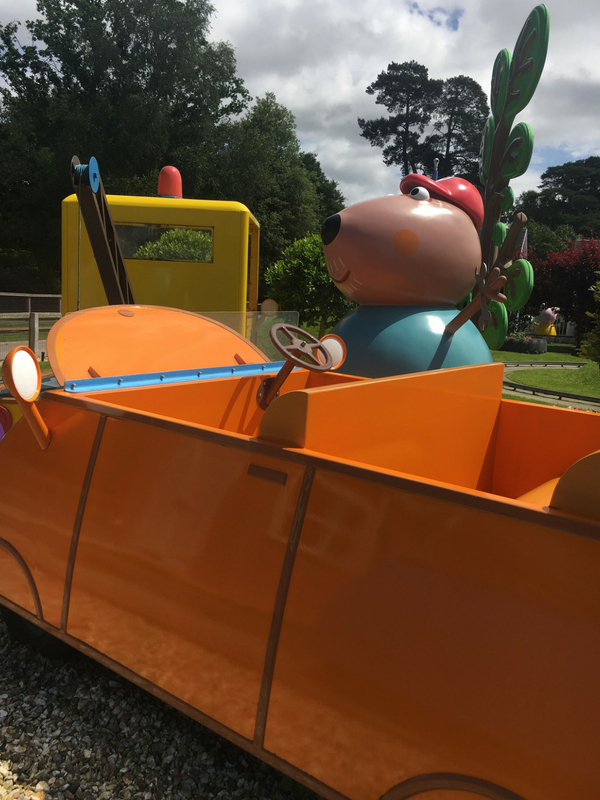 Daddy Pig's Car Ride Peppa Pig World
