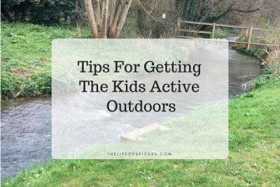 5 Tips For Getting The Kids Active Outdoors