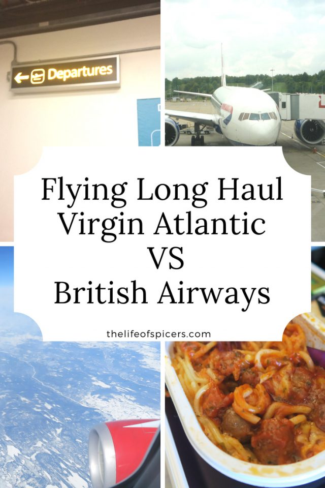 flying long haul Virgin Atlantic VS British Airways