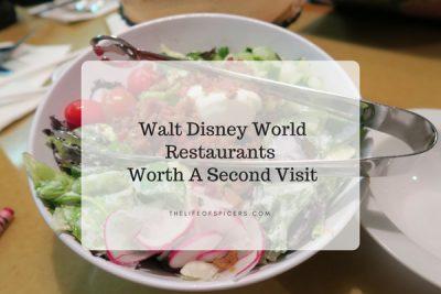 Walt Disney World Restaurants Worth A Second Visit