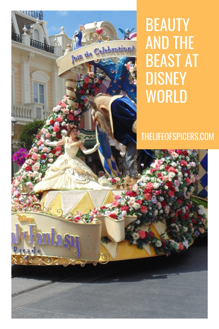 Beauty and the Beast at Disney World
