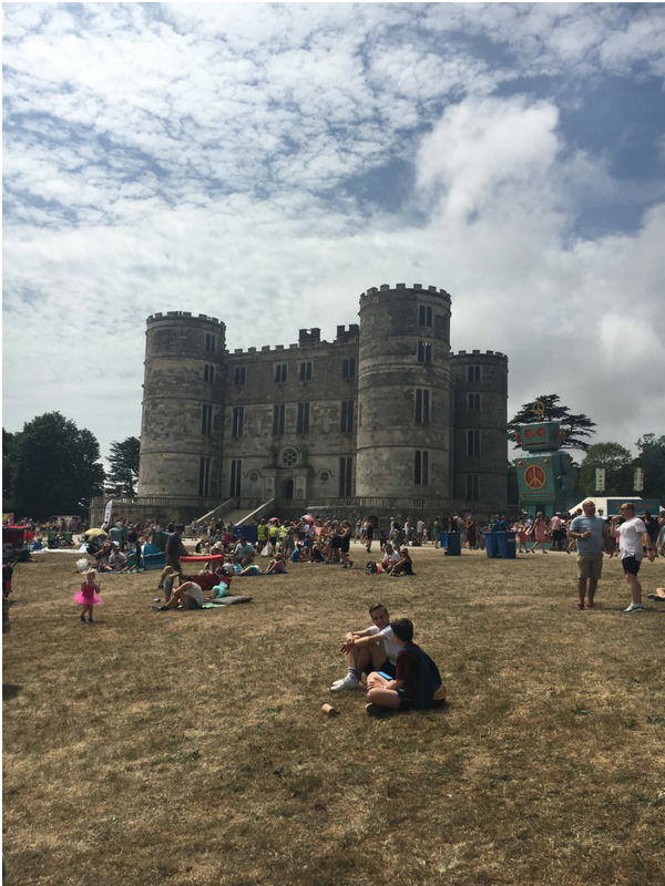 first time at Camp Bestival