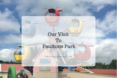 Visiting Paultons Park