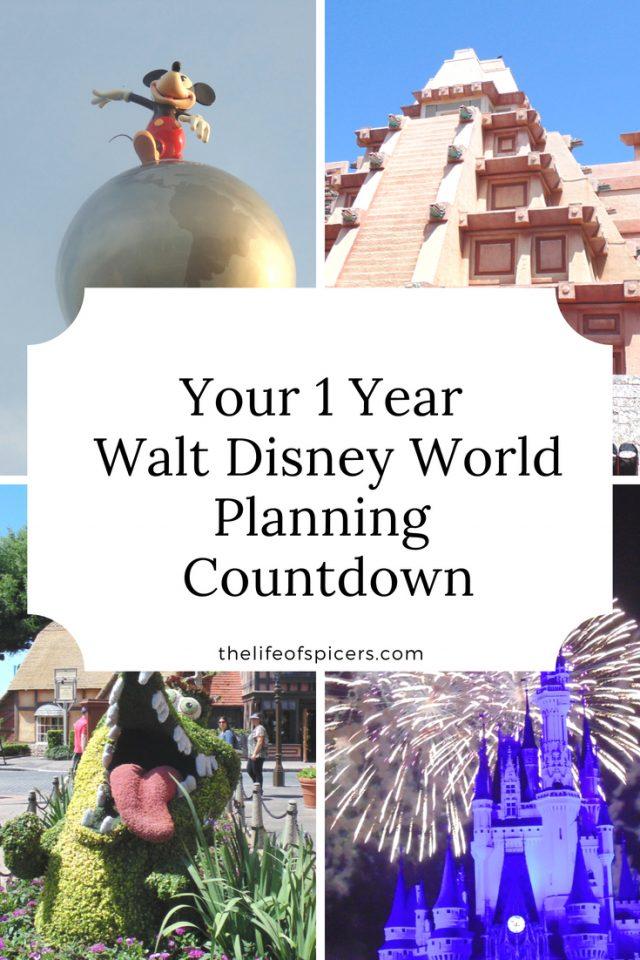 Walt Disney World countdown