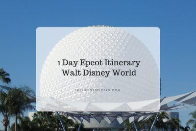 1 Day Epcot Itinerary