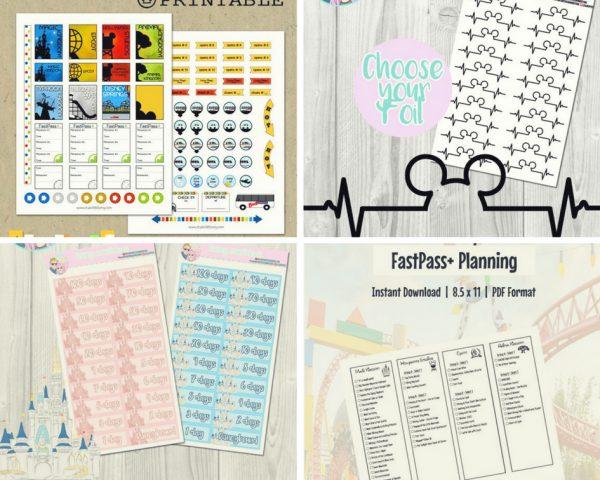 Disney planning bullet journal