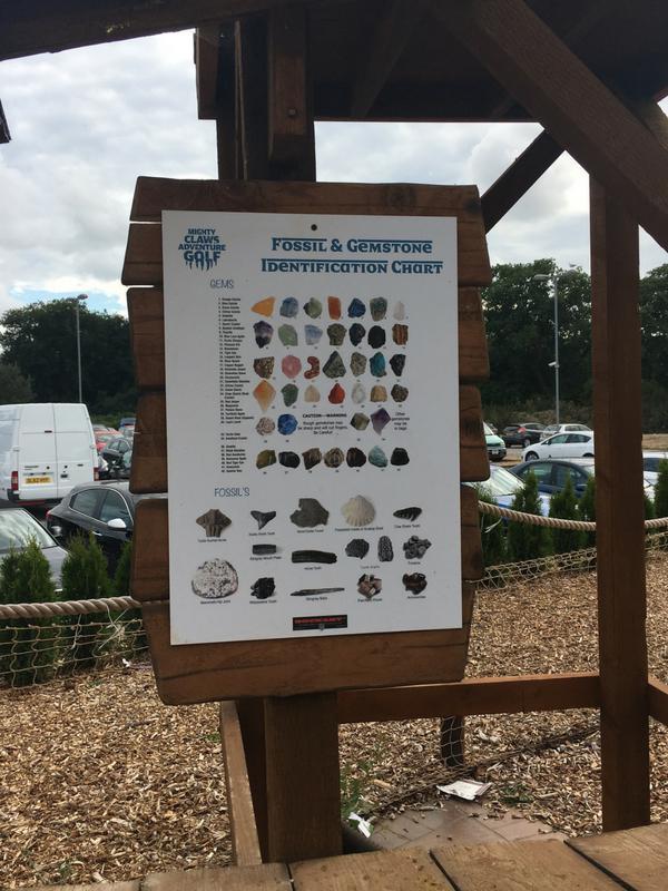Mighty Claws Adventure Golf Bournemouth gem mining