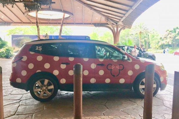Using Lyft or Uber at Disney World