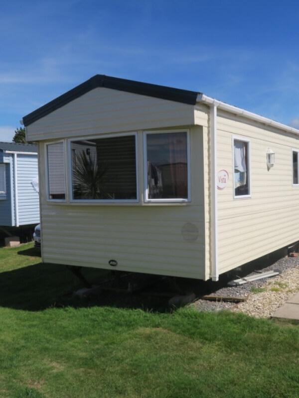 Haven Doniford Bay standard caravan outside view