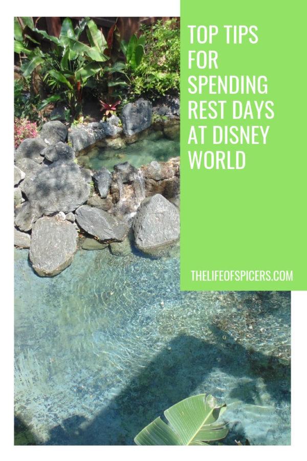 rest days at Disney World
