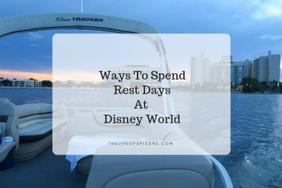 Ways To Spend Rest Days At Disney World