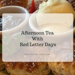 Red Letter Days Afternoon Tea